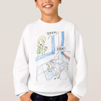 Scared Mouse Birthday Sweatshirt
