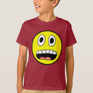 Scared Smiley Shirt