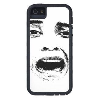 Scared Woman Expression Case For The iPhone 5