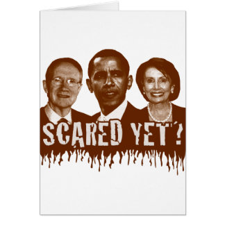 Scared Yet? Card
