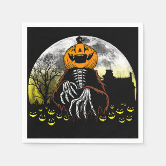 Scared You Halloween Party Paper Napkins