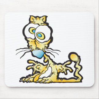 scaredee_cat mouse pad