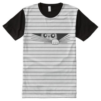 Scaredy cat All-Over-Print T-Shirt