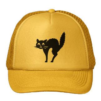 Scaredy Cat Halloween Cap Trucker Hat