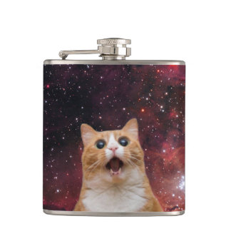 scaredy cat in space flasks