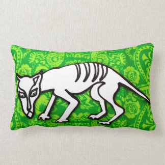 Scaredy Cat Lumbar Pillow