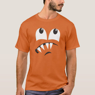 SCAREDY MONSTER FACE COSTUME T-Shirt