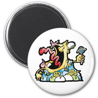 scaredypants 2 inch round magnet