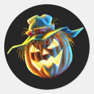ScareJack O Lantern Scarecrow Sticker