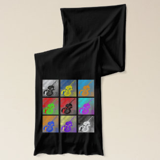 Scarf - Bass + Scroll.  Pick your color!