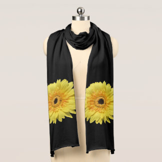 Scarf - Lemorange Lollipop Daisy
