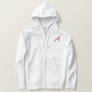 Scarlet A Design Basic Zip Hoodie