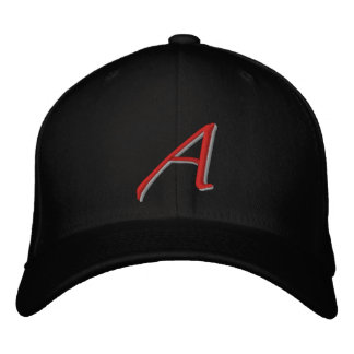 Scarlet A large Embroidered Hat