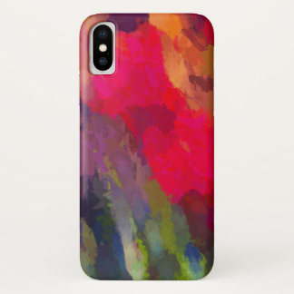 Scarlet Abstract Art Pattern Case-Mate iPhone Case