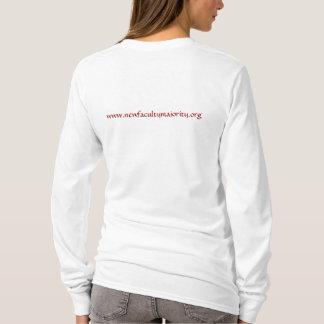 Scarlet Adjunct with NFM URL on back T-Shirt