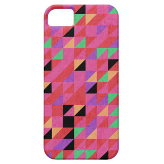 Scarlet and Crimson Triangles iPhone 5 Covers