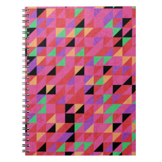 Scarlet and Crimson Triangles Notebooks