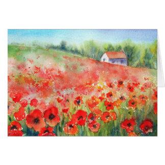 Scarlet Carpet Card