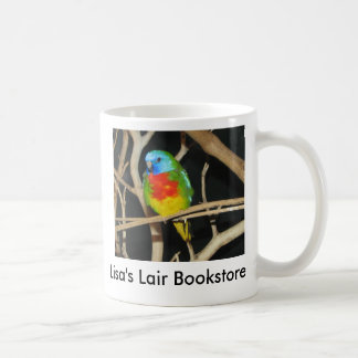 Scarlet-Chested Parakeet - Neophema splendida Coffee Mug