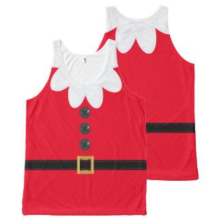 Scarlet Christmas in July Elf Novelty Tank Top