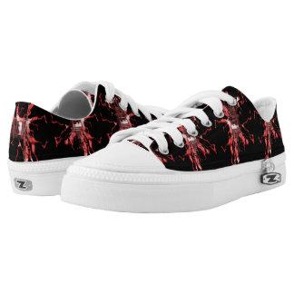 Scarlet Electric Low-Top Sneakers