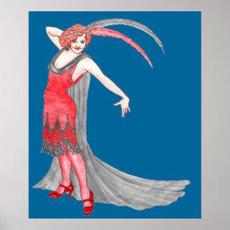 Scarlet Flapper Poster