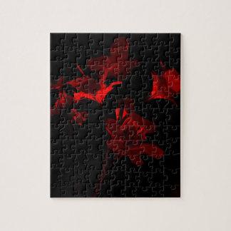 Scarlet Foil Bouquet Puzzle