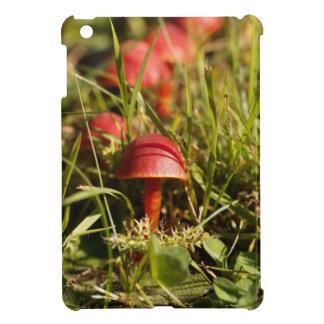 Scarlet hood fungi, Hygrocybe coccinea Case For The iPad Mini