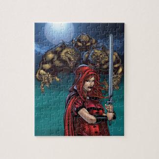 Scarlet Huntress vs. Werewolves Puzzles