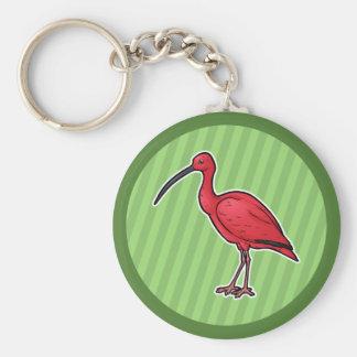Scarlet Ibis Keychain