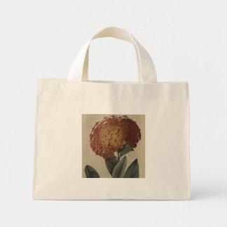 Scarlet Ixora Mini Tote Bag