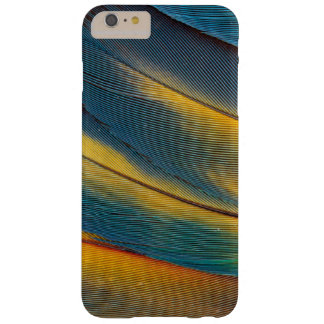 Scarlet Macaw feather close up Barely There iPhone 6 Plus Case