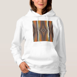 Scarlet Macaw feather design Hoodie