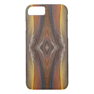 Scarlet Macaw feather design iPhone 7 Case