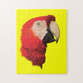 Scarlet Macaw Jigsaw Puzzle