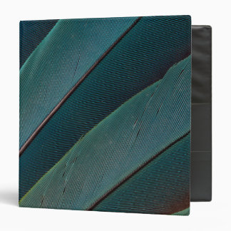 Scarlet macaw parrot feather binders