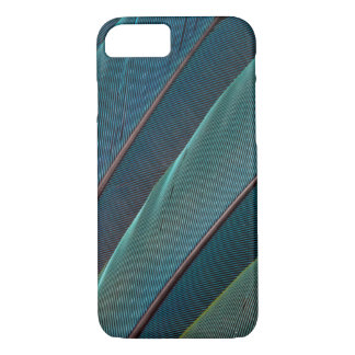 Scarlet macaw parrot feather iPhone 7 case