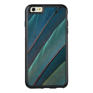 Scarlet macaw parrot feather OtterBox iPhone 6/6s plus case