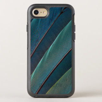 Scarlet macaw parrot feather OtterBox symmetry iPhone 7 case