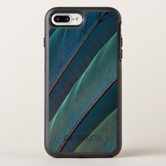 Scarlet macaw parrot feather OtterBox symmetry iPhone 7 plus case