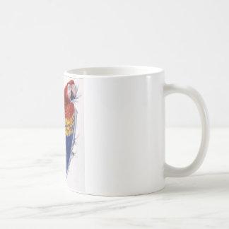 Scarlet Macaw Portrait Coffee Mug