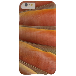 Scarlet Macaw Red-Orange Feathers Barely There iPhone 6 Plus Case
