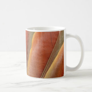 Scarlet Macaw Red-Orange Feathers Coffee Mug