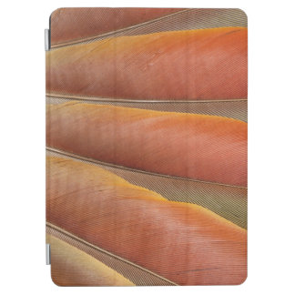 Scarlet Macaw Red-Orange Feathers iPad Air Cover