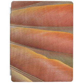 Scarlet Macaw Red-Orange Feathers iPad Cover