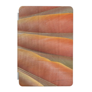 Scarlet Macaw Red-Orange Feathers iPad Mini Cover