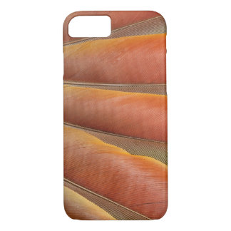 Scarlet Macaw Red-Orange Feathers iPhone 8/7 Case