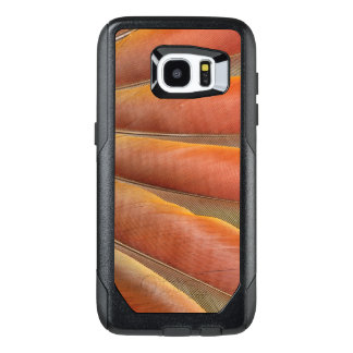 Scarlet Macaw Red-Orange Feathers OtterBox Samsung Galaxy S7 Edge Case