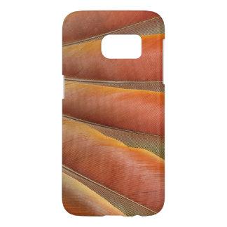 Scarlet Macaw Red-Orange Feathers Samsung Galaxy S7 Case