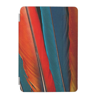 Scarlet Macaw Tail Feathers iPad Mini Cover